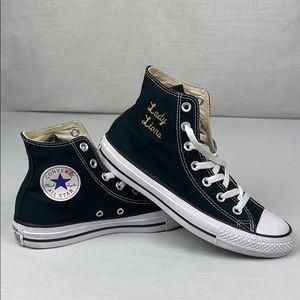 Converse Black All-Star High Tops Women's Size 7.5